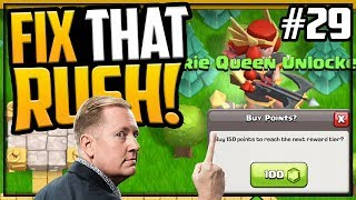 GEMMED it ALL! Fix That Rush Clash of Clans Town Hall 12 Episode 29