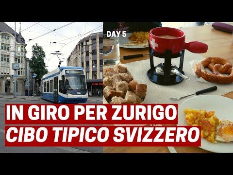 IN GIRO PER ZURIGO E CIBO TIPICO SVIZZERO [ENG Subs] | Svizzera Day 5