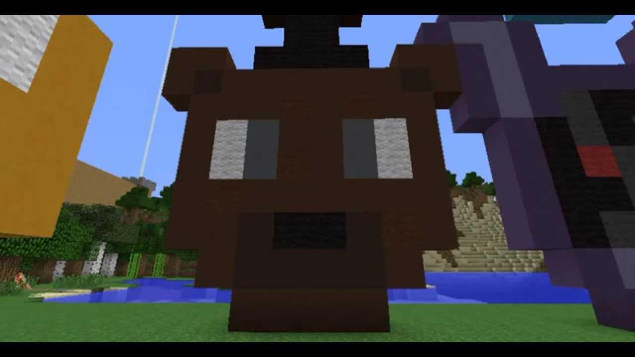 My fnaf 2 pixel art youtube