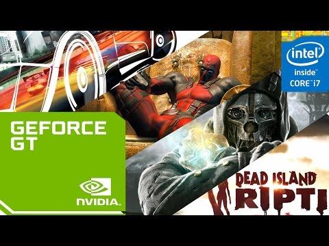 Nvidia Geforce 920M + Intel I7 5500U Game Test (Burnourt Paradise/Dishornerd/Dead IslandRiptide.. )