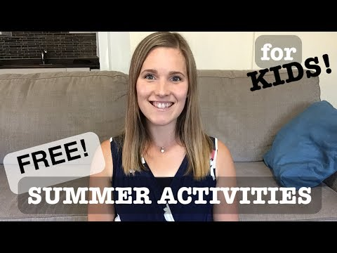 FREE SUMMER ACTIVITIES | TO KEEP KIDS BUSY!