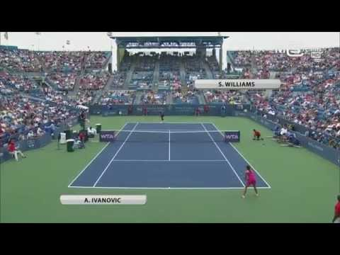 Serena Williams vs Ana Ivanovic, Cincinnati Open 2014 (Finale), highlights HD