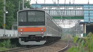 EF64 1032+205系ケヨM27編成 KRLジャボタベック譲渡配給(配9737レ)@2019.6.7