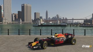 DRIVING A F1 CAR AROUND NEW YORK CITY | The Crew 2 Gameplay