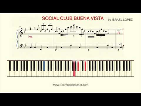 "How To Play Piano: ""SOCIAL CLUB BUENA VISTA"" by ISRAEL LOPEZ Piano Tutorial by Ramin Yousefi"