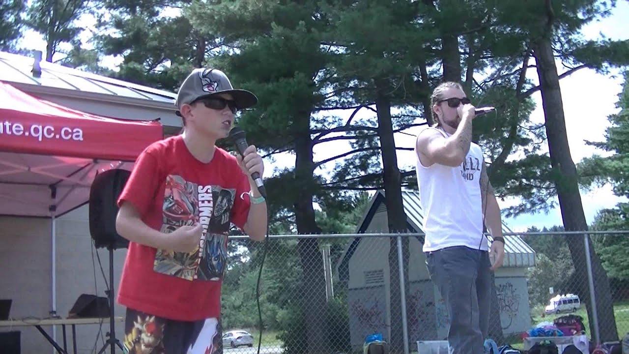 Duo avec Dpillz avant sont lancement au Top Shot