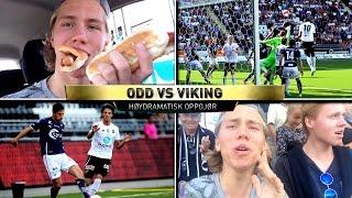 ODD MOT VIKING TIPPELIGAVLOG!! HØYDRAMATISK KAMP!!