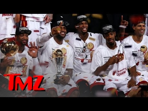 LeBron James and Dwyane Wade's Championship Party | TMZ
