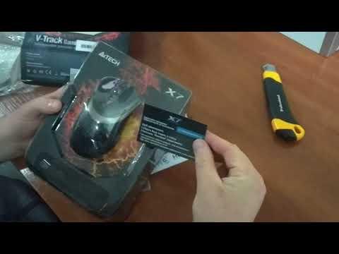 Миша A4Tech V-Track F4 USB Black (4711421881708)