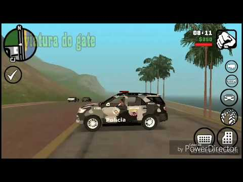 GTA SA ANDROID HILUX SW4 DO GATE PMSP