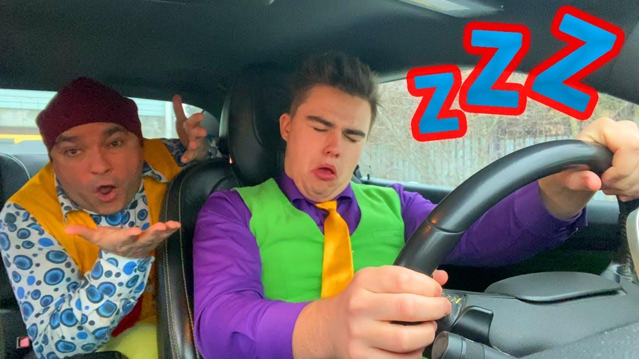 Mr. Joe & Older Mr. Joe in racing Chevrolet Camaro FELL Asleep at WHEEL & Crashed into GATE 13+