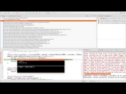 Eclipse JSDT JavaScript Debugger - YouTube