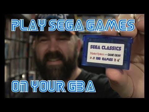 Sega Classics 100 in 1 GBA Cart thumbnail
