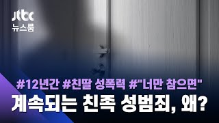 """""""12년간 성폭력"""" 고소당한 법원 공무원…피해자는 친딸 / JTBC 뉴스룸"""