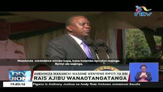 Ripoti ya BBI: Rais Uhuru Kenyatta ajibu wanaotangatanga