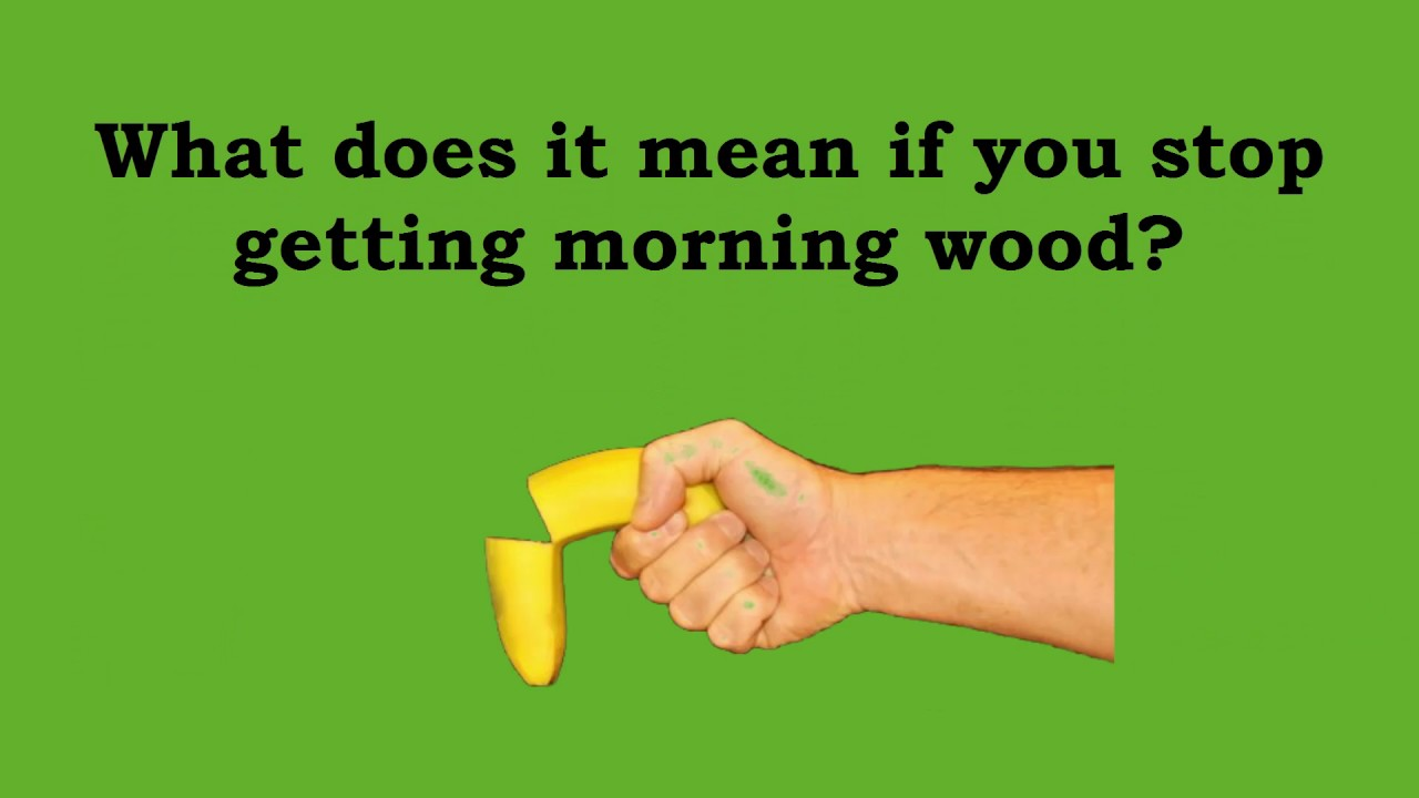 erectile dysfunction but morning wood