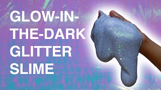 Glow-In-The-Dark Glitter Slime Mp3