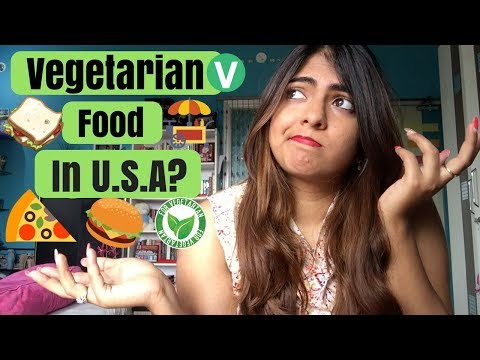 What Can Vegetarians Eat in USA? | Complete Guide To Vegetarian Food in USA | Nakhrebaaz