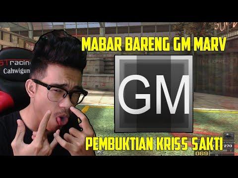 MABAR BARENG GM MARV !! KRISS SAKTI BERAKSI NIH BOSKU - POINT BLANK GARENA INDONESIA