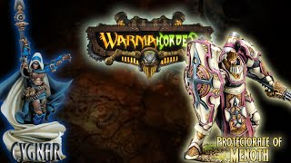Warmachine & Hordes - Cygnar (E-Haley) vs. Protectorate of Menoth (Durst) - 50pt Battle Report