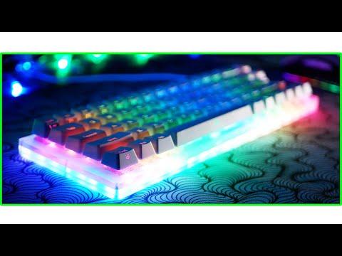 ⌨️ ПРОЗРАЧНАЯ МЕХАНИЧЕСКАЯ КЛАВИАТУРА! Womier k66 — бюджетная механическая клавиатура из Китая обзор