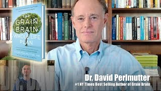 Dr. David Perlmutter on The Grain Brain Whole Life Plan Book with Luis Angel | Memory Expert