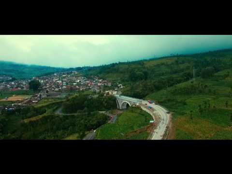 Wonosobo Bridge (aerial drone)