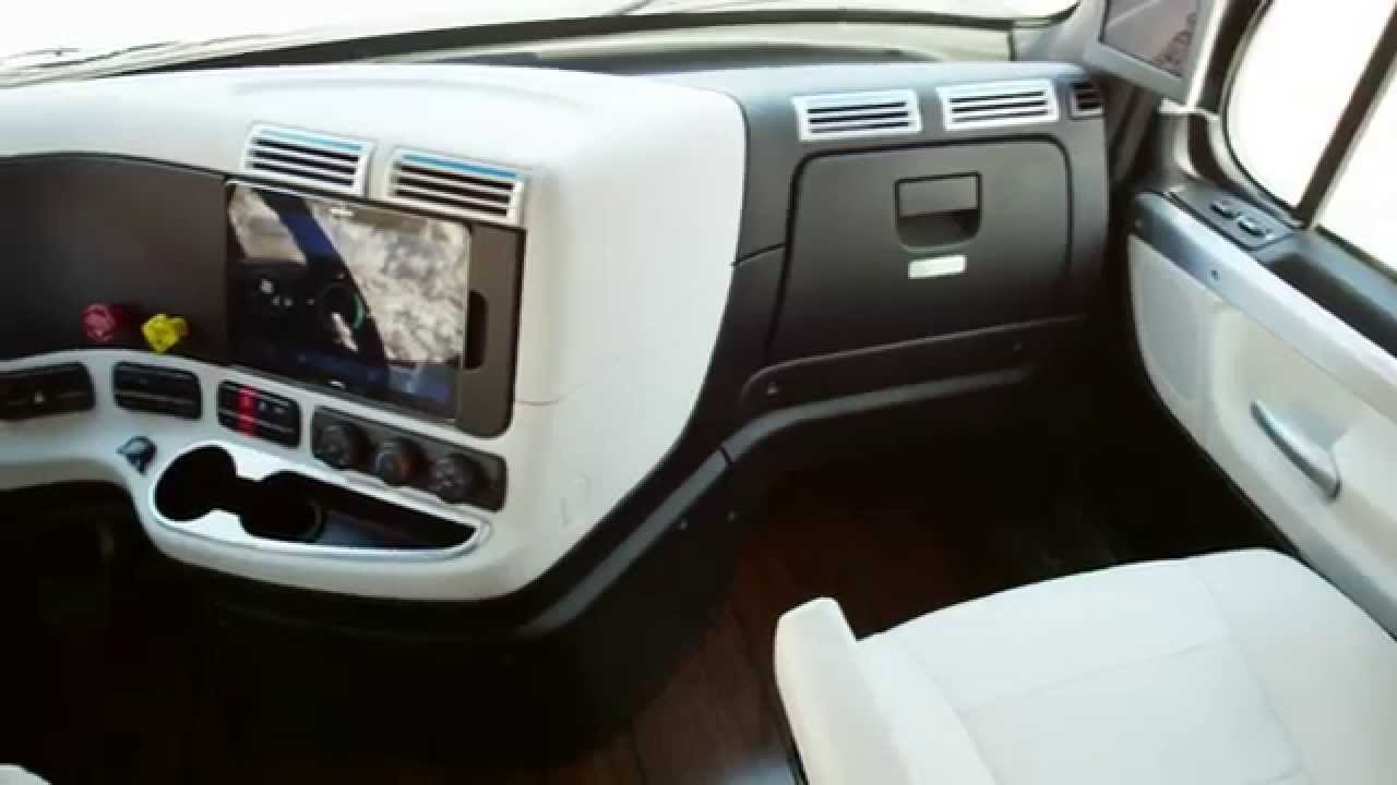 Freightliner inspiration truck interior design for Car inner decoration