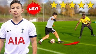 I Challenged a KID Footballer To a PRO Football Competition (NEW HEUNG MIN SON 손흥민)