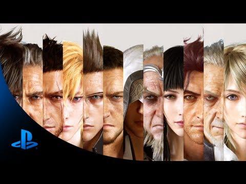 Final Fantasy Xv Announcement Trailer  E3 2013