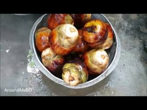 21 Pieces Palm Fruits Cake / Prepared By Women / Charity Food / Tasty Village Food