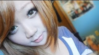tutorial japanese gyaru nana suzuki inspired make up