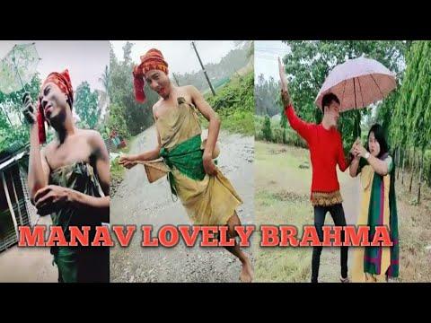 #BodofunnyVideo#Likeevideo Manab Lovely Brahma  Funny Likee Video