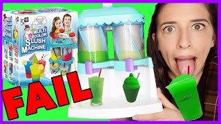Slushie Machine FAIL