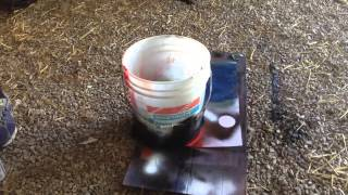 Spray paint art: Space, Nebula, Black Hole