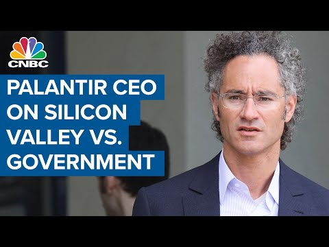 Palantir CEO: Problem is tech's unwillingness to support U.S. government