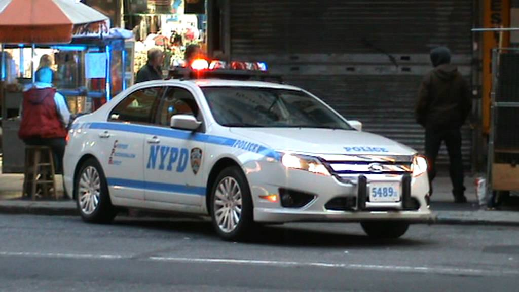 NYPD Ford Fusion Traffic Stop