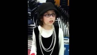 Bekah as Eleanor Roosevelt