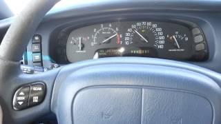 1998 Buick Park Avenue 3.8L 0-60 MPH