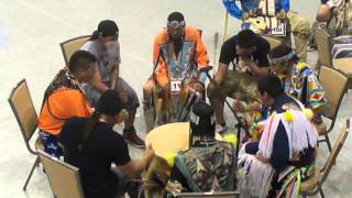 Redboys Indian Drum Ceremony, POW-WOW Hollywood, Florida Seminole w/ Chief Odulani