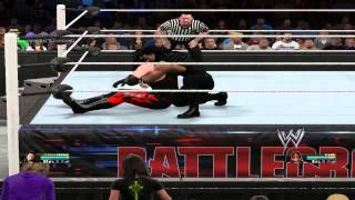 WWE 2K15 PC Gameplay-Roman Reigns VS Kane