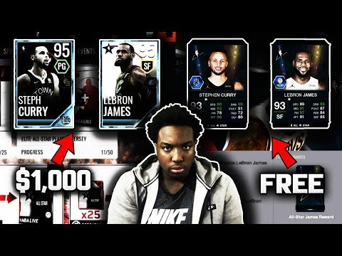 NBA LIVE MOBILE VS NBA LIVE 18 | WHICH ALL-STAR PROMO WAS BETTER???