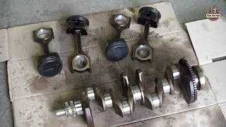 Капитальный ремонт и гильзовка блока  двигателя G4KD 2.0 бензин, автомобиля Hyundai ix35