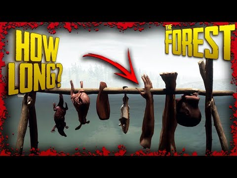 How Long Does It Take To Dry Meat? | The Forest Tutorial