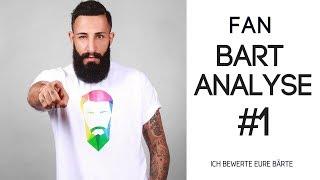 FAN BART ANALYSE #1 - ICH BEWERTE EURE BÄRTE  | BARTMANN
