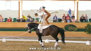 Tamara Fuerhacker - Simone Bauer (AUT) - CVIJ2 Pas de Deux 08 - CVI Ebreichsdorf 2017