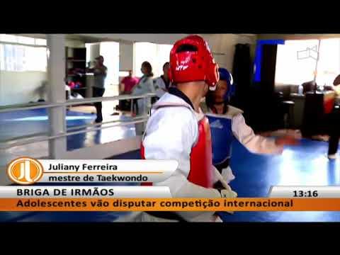 JL - Garotos do DF são expoentes do Taekwondo no Brasil