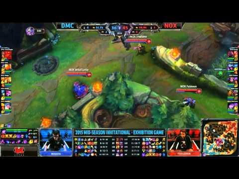 Demacia vs Noxus - Casters vs Pros - Mid Season Invitational 2015 - League of Legends