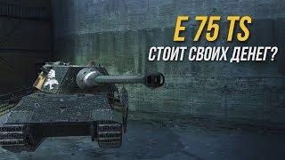 E 75 TS - ОБЗОР ТАНКА ДЛЯ МАЖОРОВ WoT Blitz