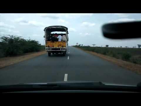 Crazy Indian Roads #7  - Gadag-Hubli Road